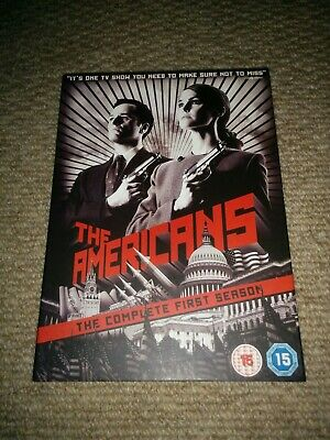 THE AMERICANS - The Complete First Season Region 2 DVD
