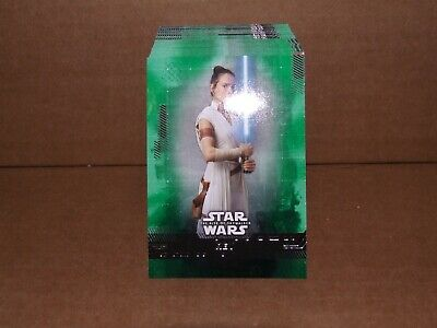 2019 Star Wars Rise Of Skywalker Complete Green Parallel Set(99 Cards)