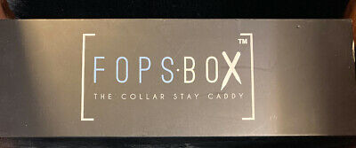 Rare!!  Fops Box, The Collar Stay Caddy, Julius Erving Golf Classic Edition, New