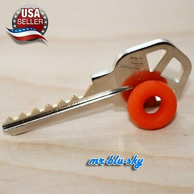 Cut Titan, Kwikset KW11 Pre-cut Key With rubber ring, locksmith lockout space