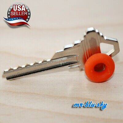 Schlage SC4 Cut Key with rubber ring, locksmith lockout Key space