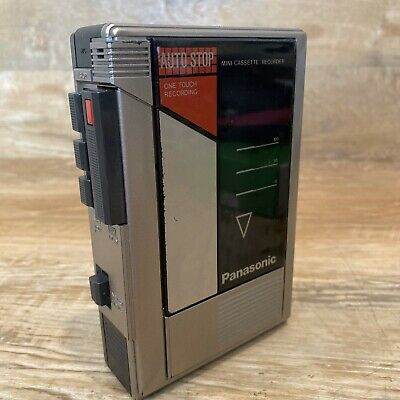 PANASONIC RQ-345 Portable Cassette Recorder Player Tested Works Great
