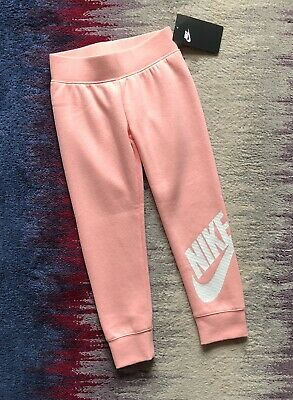 Nike Girls Salmon Pink Joggers Age 4-5 Years BNWT