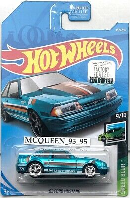 Hot Wheels Super Treasure Hunt '32 Ford Mustang Speed Blur Factory Sealed