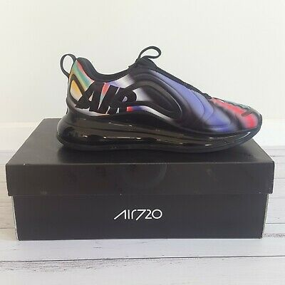 Nike Air Max 720 GS Running Shoes Size 7Y NWB AQ3196-011