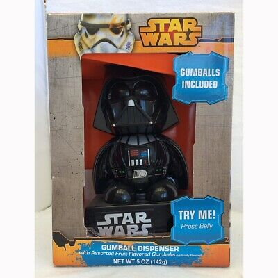 Star Wars Darth Vader Gumball Machine Battery Operated Vintage