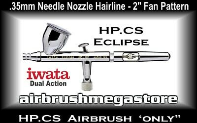 Iwata Eclipse Airbrush HP.CS .35mm ( Airbrush Only ) + Free Insured Post