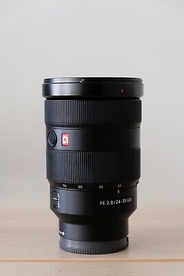 Sony FE 24-70 mm f/2.8 GM Standard Zoom Lens –  Perfect Glass - Barely Used