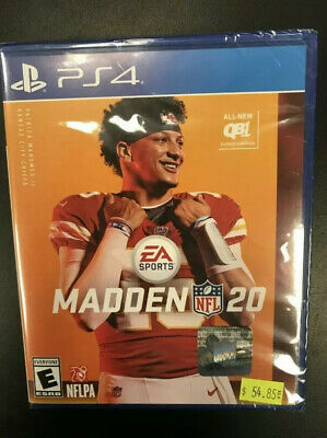Madden NFL 20 (Sony PlayStation 4, 2019) PS4 Brand New Sealed