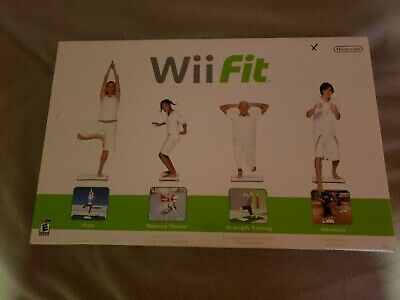Wii Fit Game with Balance Board Brand New Sealed