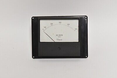Industrial Simpson  0-500 Ac Volts Meter