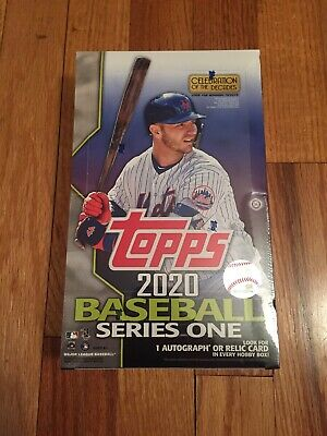 2020 Topps Series 1 Baseball Factory Sealed Hobby Box  1 Silver Pack!Hot Item!⚾️