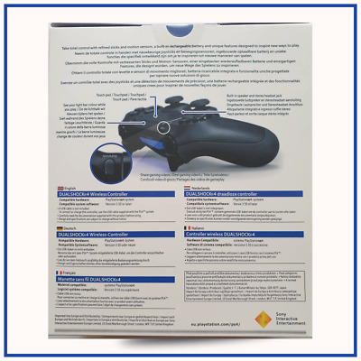 PS4 Wireless Playstation 4 Dualshock Controller V2 - PS4 Black Best for Gift