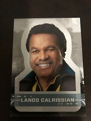 2019 Star Wars Rise Of Skywalker, Sticker Card, Card#, CS-5, Lando Calrissian