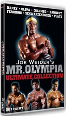 Joe Weider's Mr Olympia Ultimate Collection DVD NUEVO