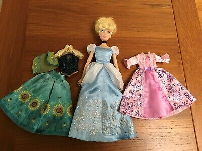 """Disney Store Classic Cinderella with Gus Doll 11.5""""  2017"""