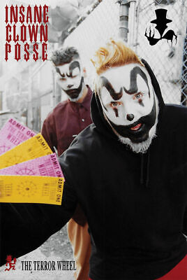 "Poster - Icp - The Terror Wheel 24""x36"" Wall Art p9265"