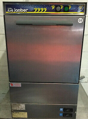 LAMBER GS400 MADE IN EU Commercial Cafe Undercounter Glasswasher / Dishwasher