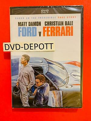 Ford V Ferrari DVD {{AUTHENTIC READ LISTING}} Brand New FAST Free Shipping