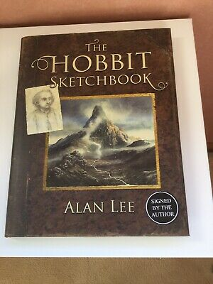 The Hobbit Sketch Book signed by the author hardback 1st Edition - New