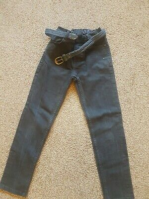 Boys Black Next Skinny Jeans Age 9 Yrs