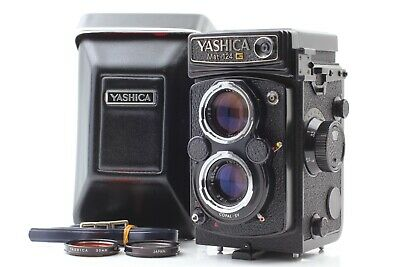 【MINT Meter Works】 YASHICA Mat 124G 6x6 TLR Medium Format Camera From JAPAN #297