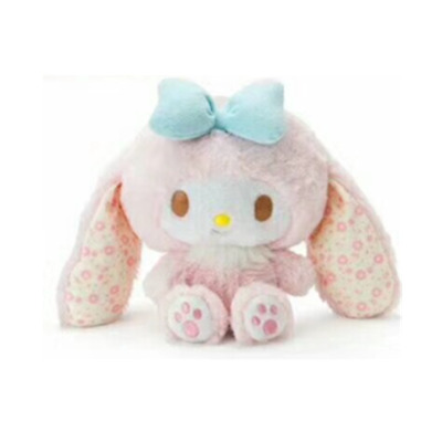 My melody cosplay rabbit plush stuffed toy doll 8' new soft birthday gift