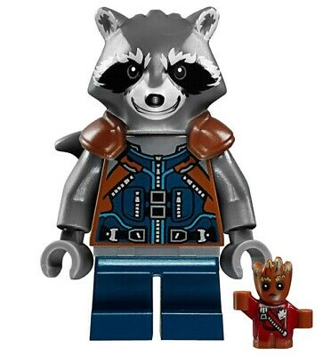 G3 - Raccoon Avengers - Moc Custom Minifigures Compatibile Simil LEGO - Nuovo