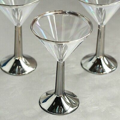1536 Plastic Martini Cocktail Glasses Disposable Party Wedding BBQ Buffet 200ml