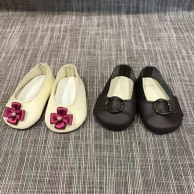 American Girl 2 Pairs of Flats historical style for Dolls