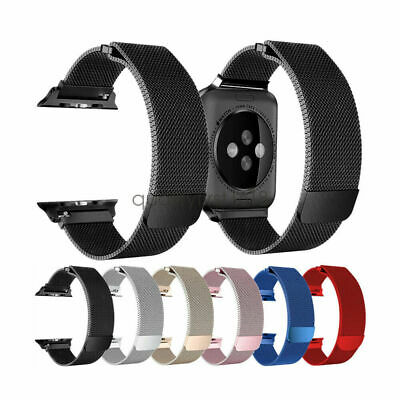 Apple Watch Series 1 2 3 4 Milanese Magnetic Stainless Steel Strap iWatch Band