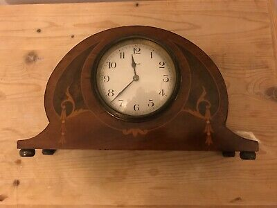 Antique ornate French small mantel clock