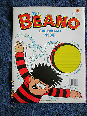 Beano Calendar 1994 Unmarked With Original Envelope