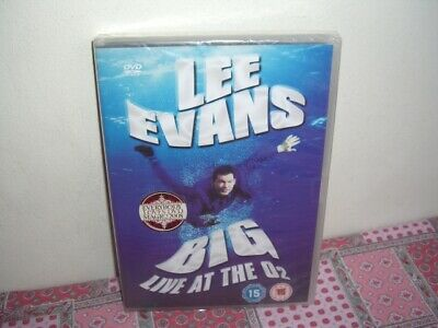 Lee Evans Big Live At The O2 DVD New Sealed Region 2 & 4