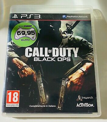CALL OF DUTY BLACK OPS - Sony PlayStation 3 - Ps3 Gioco