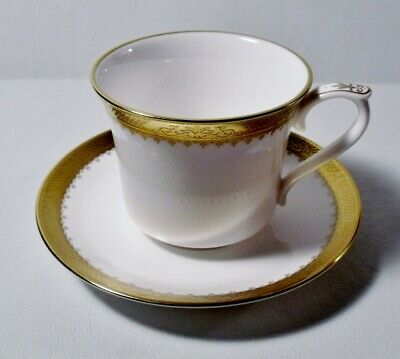 Caverswall CASTLE OF MEY Cup(s) & Saucer(s) EXCELLENT