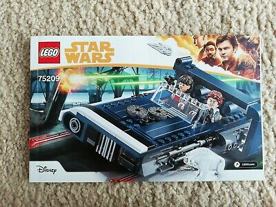 LEGO 75209 Star Wars Han Solo Landspeeder INSTRUCTION BOOKLET MANUAL ONLY