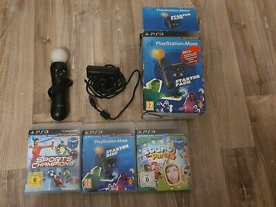 Playstation 3 Move Controller & Kamera PS3 / PS4 VR Virtual Reality Sony Spiele