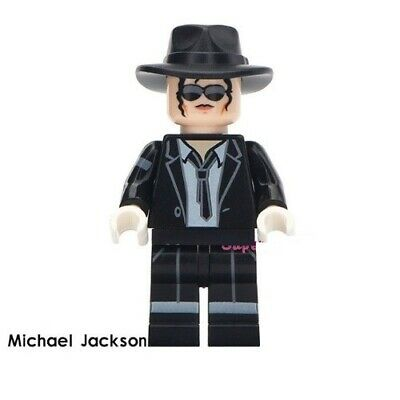 G3 - Michael Jackson Billie Jean  Custom Figure Gashapon LEGO - Nuovo in Blister