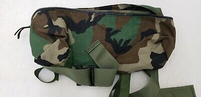 Military Issued Woodland MOLLE II Waist Pack-NEW