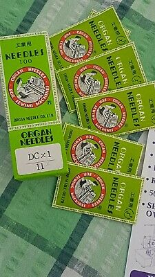 10  OVERLOCKER NEEDLES  -- SUITS MANY MAKES AND MODELS.. DC x 1..  FREE POST