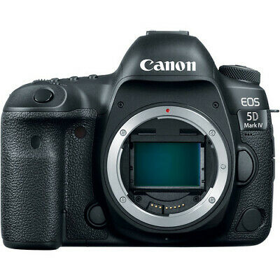 Brand New Canon EOS 5D Mark IV DSLR Camera - Body Only