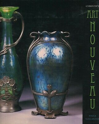 Antique Art Nouveau - Pottery Glass Metal Furniture Etc. / Illustrated Book