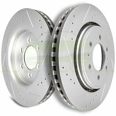 Dodge Ram 1500 4WD 94-99 Drill Slot Brake Rotors FRONT