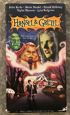 """Hansel & Gretel"" VHS Rare Live Action Fairy Tale. Good Quality. Howie Mandel."
