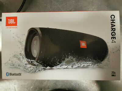 JBL Charge 4 Portable Bluetooth Speaker - Black JBLCHARGE4BLKAM