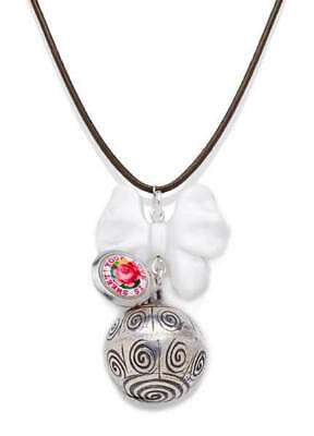 Poup'ke - Bertille Mother of Pearl Pregnancy Chime Baby Harmony Necklace