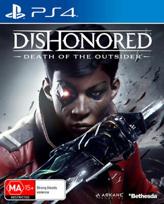 Brand New Dishonored Death Of The Outsider For Ps4 Playstation 4 Orig Aus Vers