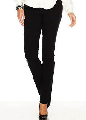 New - Soon Maternity - Straight Leg Work Maternity Pregnancy Pants in Black