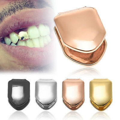 High Quality Plated Small Single Tooth Cap Grillz Hip Hop Teeth Grill SW
